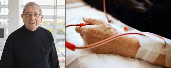 Janu Dostálovi (76) selhaly ledviny: 13 hodin týdně na dialýze!