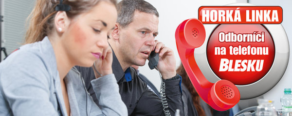 Telefonní čísla Horké linky Blesku: Ptejte se odborníků z úřadu práce! Na podporu v nezaměstnanosti, »rodičák« i hmotnou nouzi