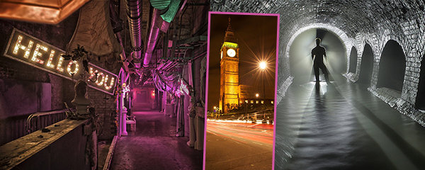 Tajemné londýnské podzemí: Co všechno se skrývá pod britskou metropolí? Stanice duchů, válečné bunkry a další!