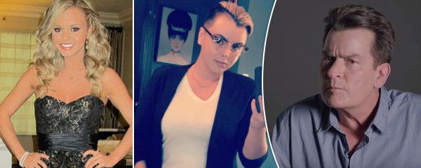 Blonďatá pornoherečka Bree Olson teď vypadá jako babochlap. Může za to její ex Charlie Sheen?