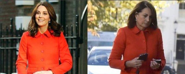 Babička Middleton přijela za Pippou v kabátu po Kate: S dárkem pro miminko!