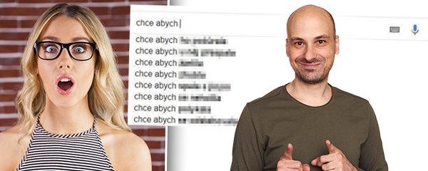Co chtějí čeští muži po ženách? Úchylárny odhalil Google našeptávač