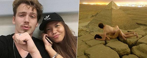 Sex turistů na pyramidě naštval Egypťany: Hlavní aktér promluvil!