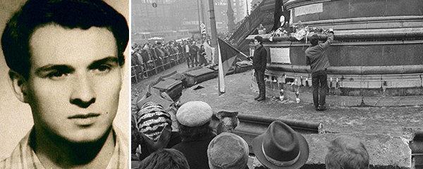 50 let od upálení Jan Palacha: Potřel se chemikálií, aby necítil bolest! StB zkoumala, jestli chtěl zemřít