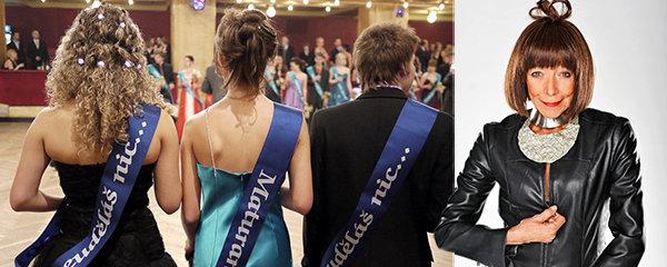 Zůstaneme jako národ křupany? Maturitní ples prestižního gymnázia očima Františky