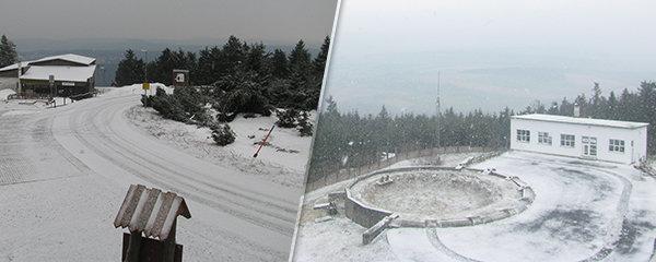 Do Česka se vrátily mrazy a začalo sněžit. Řítí se na nás i ledová fujavice