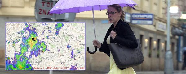 Extrémní déšť bude Česko bičovat až do čtvrtka. Hrozí povodně, sledujte radar