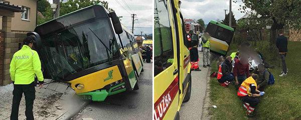 Autobus s dětmi se srazil s autem plným dřeva: Desítky zraněných, na vině je prý řidič