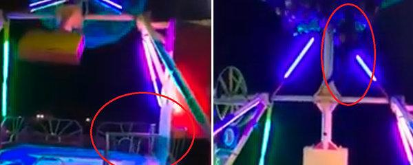 Hororový okamžik: Kolotoč za chodu vláčel ženu jako hadrovou panenku! Pak ji odmrštil na železné hrazení