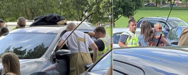 Matka nechala batole hodinu v rozpáleném autě: Když dítě vysvobodili, trápilo ji rozbité okénko