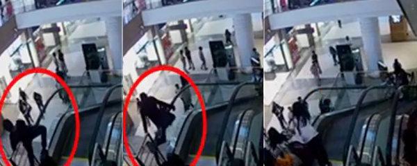 Chlapce (†12) zabil eskalátor v obchodním centru! Zasekly se mu v něm kalhoty