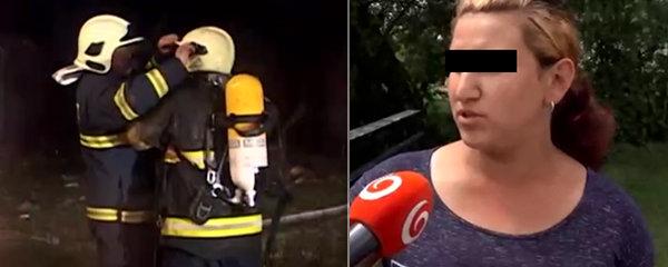 Tři děti uhořely při tragickém požáru: Matku Moniku potrestal soud!