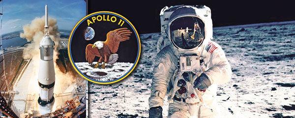 Chyba počítače i hadr plný bakterií: Apollo 11 odstartovalo na Měsíc před 50 lety