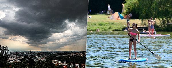 Do Česka se vrací tropy, bude až 33 °C. Hrozí i silné bouřky, sledujte radar