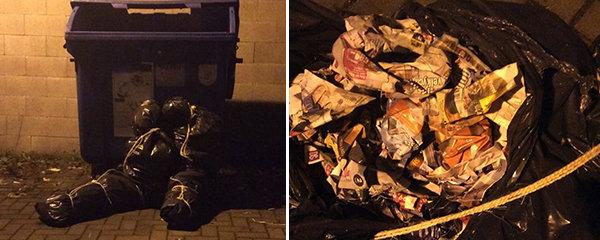 Mrtvoly v igelitových pytlech vyděsily Olomouc! Na policisty čekal šok