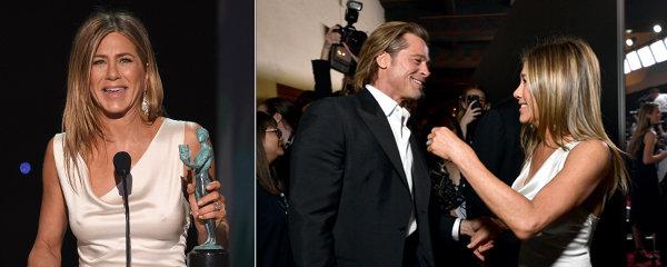 Bradavky Jennifer Anistonové a záhada fotky! Svlékl ji Brad Pitt?