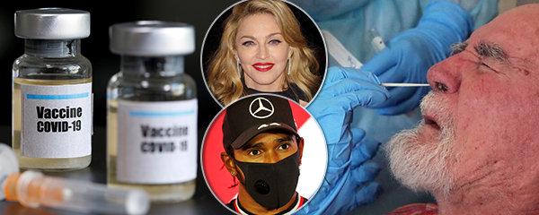 Celebrity přispívají k šíření koronavirových konspirací.