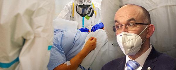 Ministr zdravotnictví přišel kvůli koronaviru o kolegyni. Covidem podle Jana Blatného (za ANO) onemocněla třikrát. Ministr to přiznal ve vysílání ČT v pořadu Máte slovo ( 14. 1. 2021)