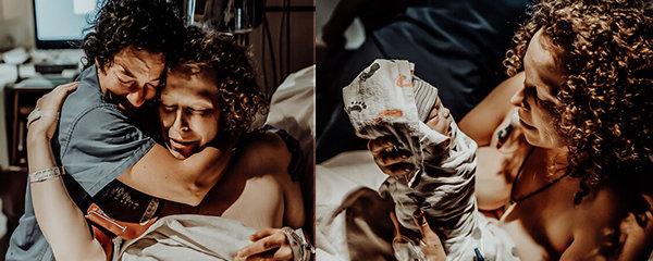Snímky, které vám zlomí srdce: Fotografka zachytila porod mrtvého chlapečka