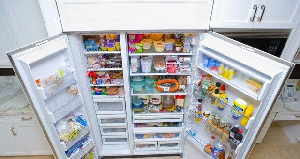 Nacpaná lednička - sen snad každé hospodyně...