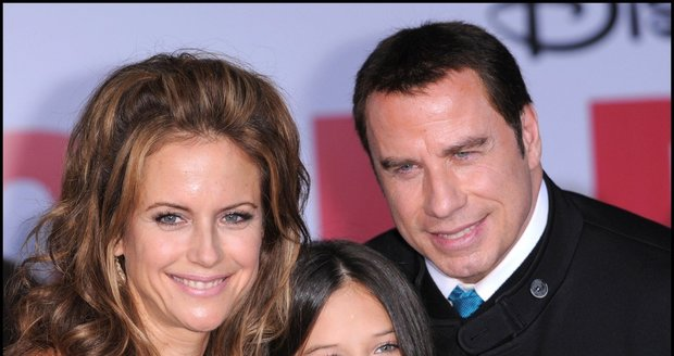 Kelly, John Travolta a jejich dcera Ella