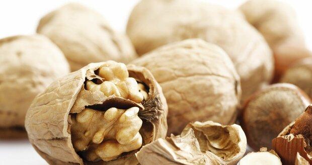 Vlašské ořechy jsou zdravé