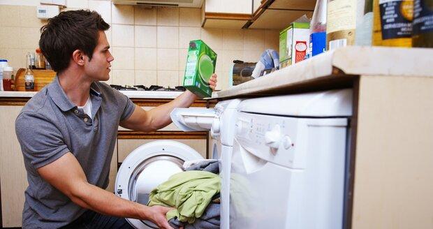 Vyperte své prádlo správně.