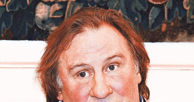 Depardieu je znám svým výbušným chováním