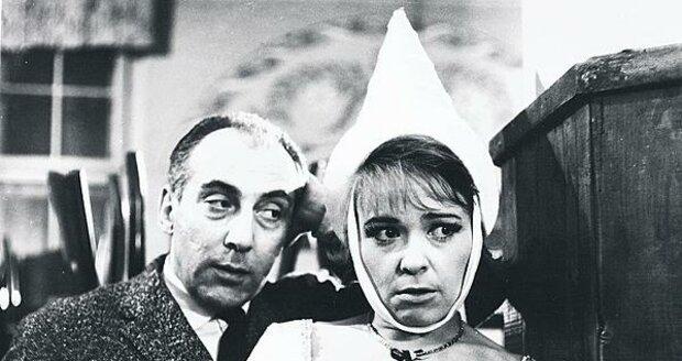 Bílá paní, 1965: S Jiřinou Bohdalovou byli častými hereckými partnery