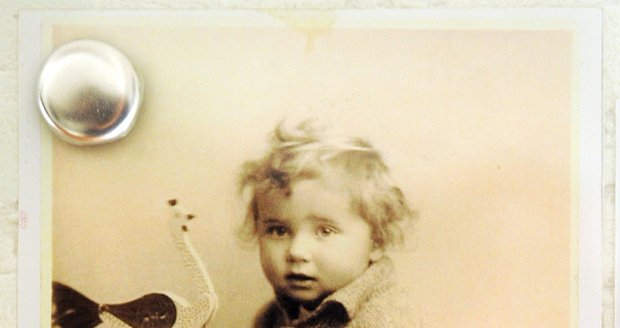 Jako malý byl Vladimír prý moc roztomilé dítě