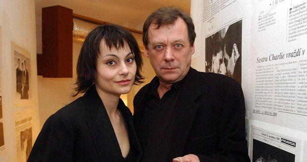 Oldřich Vízner s partnerkou