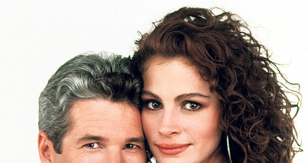 Richard Gere a Julia Roberts se v romantické komedii Pretty Woman představili v hlavní roli