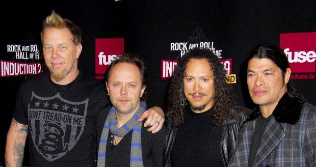Příští rok by měl přijít do kin film Metallica 3D