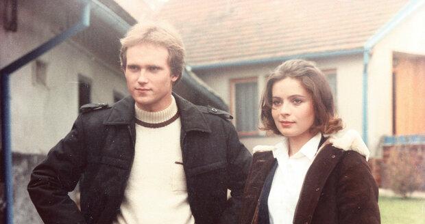 Michal Pešek s Libuší Šafránkovou ve filmu Křtiny