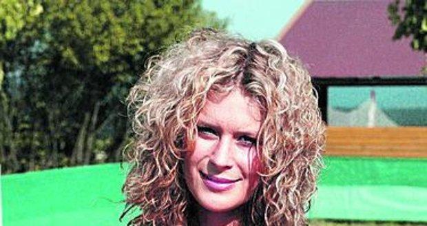 Kateřina Stočesová si oblíbila rybník Rožmberk.