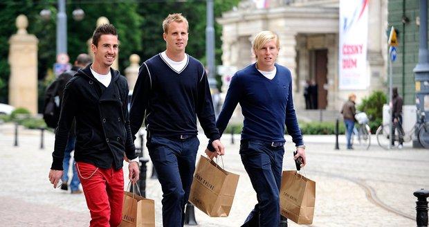 Petržela, Limberský a Rajtoral vyrazili na nákupy