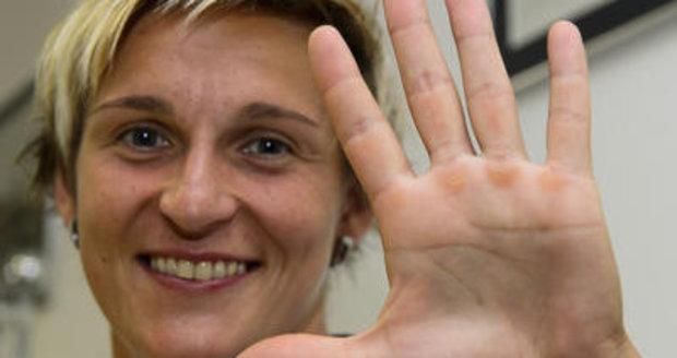 Barbora Špotáková je jednou z největších nadějí českého olympijského týmu