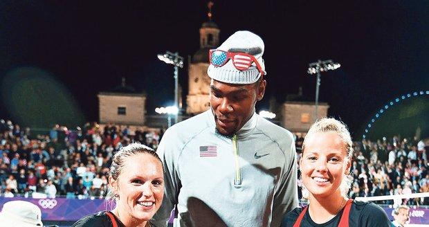 Sluková s Kolocovou jsou obletované. Po posledním zápasu se k nim měl basketbalista Kevin Durant.