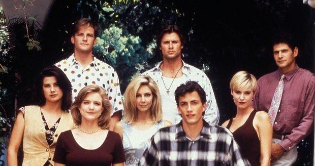 Herci ze seriálu Melrose Place v roce 1992