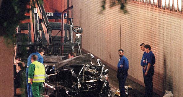 Místem tragické nehody byl pařížský tunel