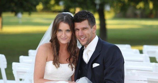 Iveta Benešová a Jürgen Melzer pyšně oznámili na Twitteru: Od pátku jsme manželé!