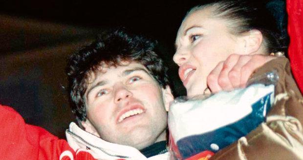 Modelka Iva Kubelková byla Jágrova první vážná známost. Dali se dohromady v roce 1996, vydrželi spolu dva roky.