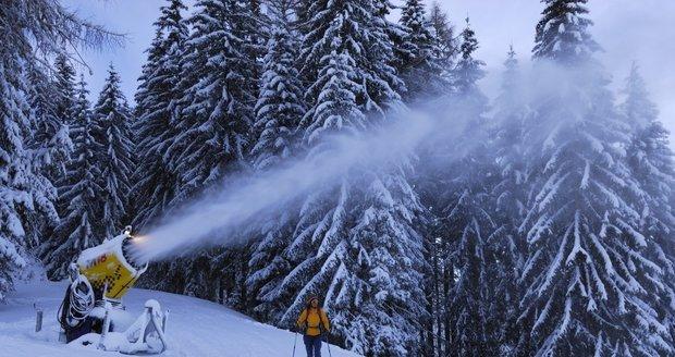 V potocích je málo vody: Vodohospodáři budou kvůli zasněžování kontrolovat lyžařské areály