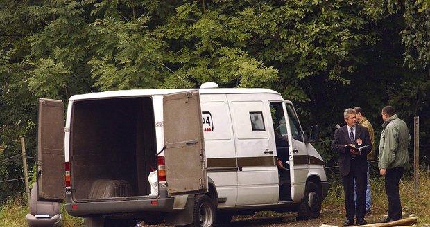 Vozidlo agentury Group 4 Securitas, ze kterého zmizelo 154 milionů korun