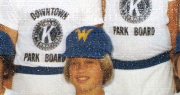 V dětství hrával baseball