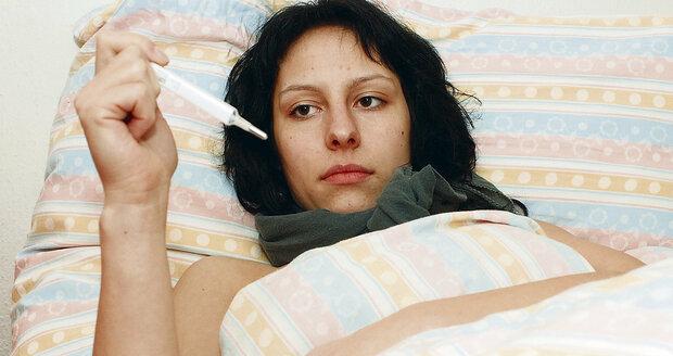 Na Česko se opět valí chřipková epidemie. U některých případů může mít vážný průběh