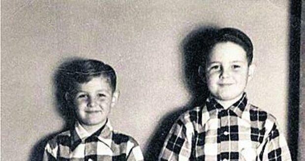 Ladislav a Jiří Štaidlovi v roce 1955