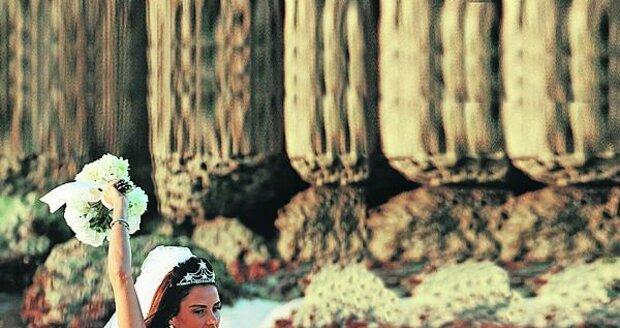odkrytá bradavka byla pro ni zřejmě důležitější  než celá svatba