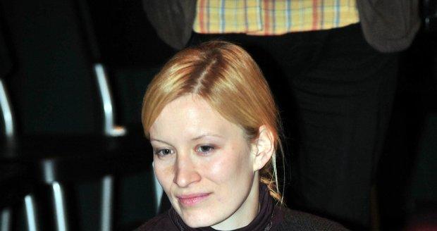 Herečka Helena Dvořáková.
