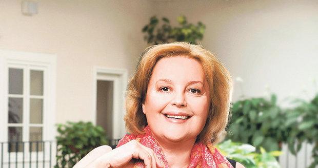 Magda Vášáryová je smrtí svého švagra zdrcená.